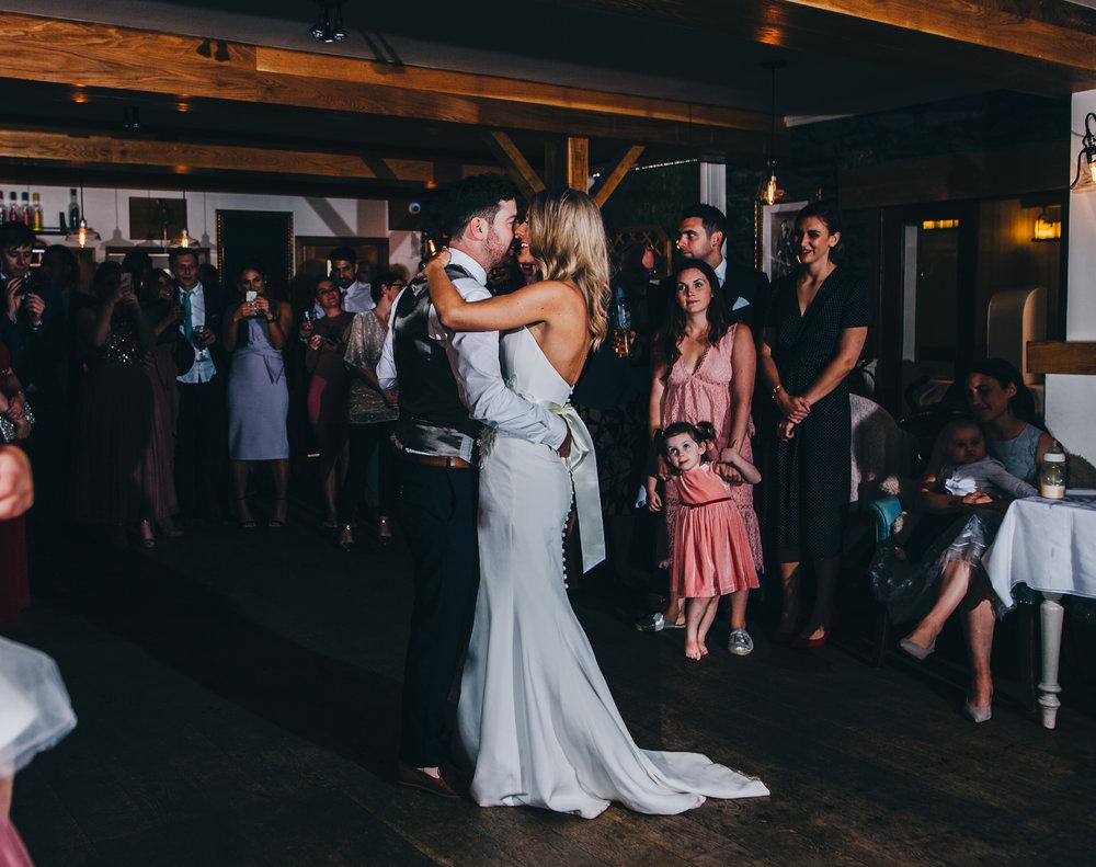 lake district wedding photographer - first dance