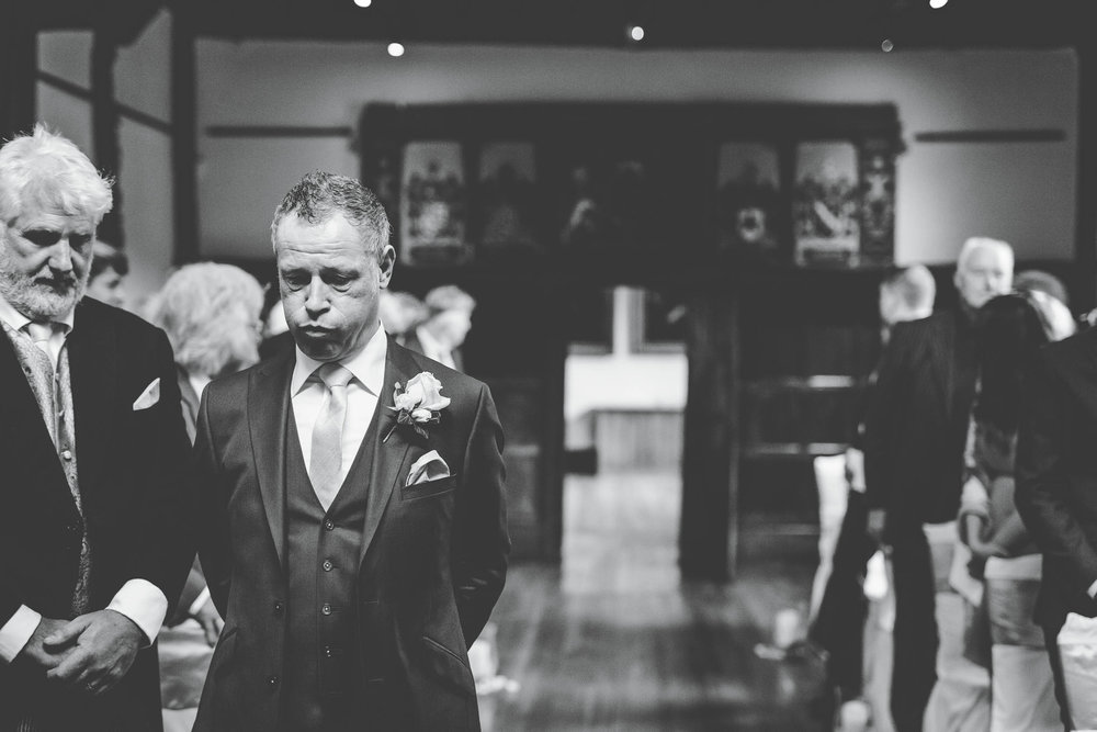 nerves at the wedding day - documentary wedding pictures lancashire