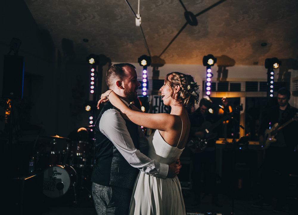 first dance at the Ryebeck Hotel