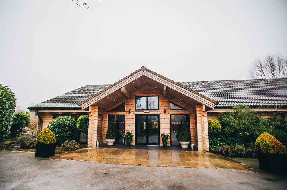 exterior image of styal lodge - Cheshire wedding photography