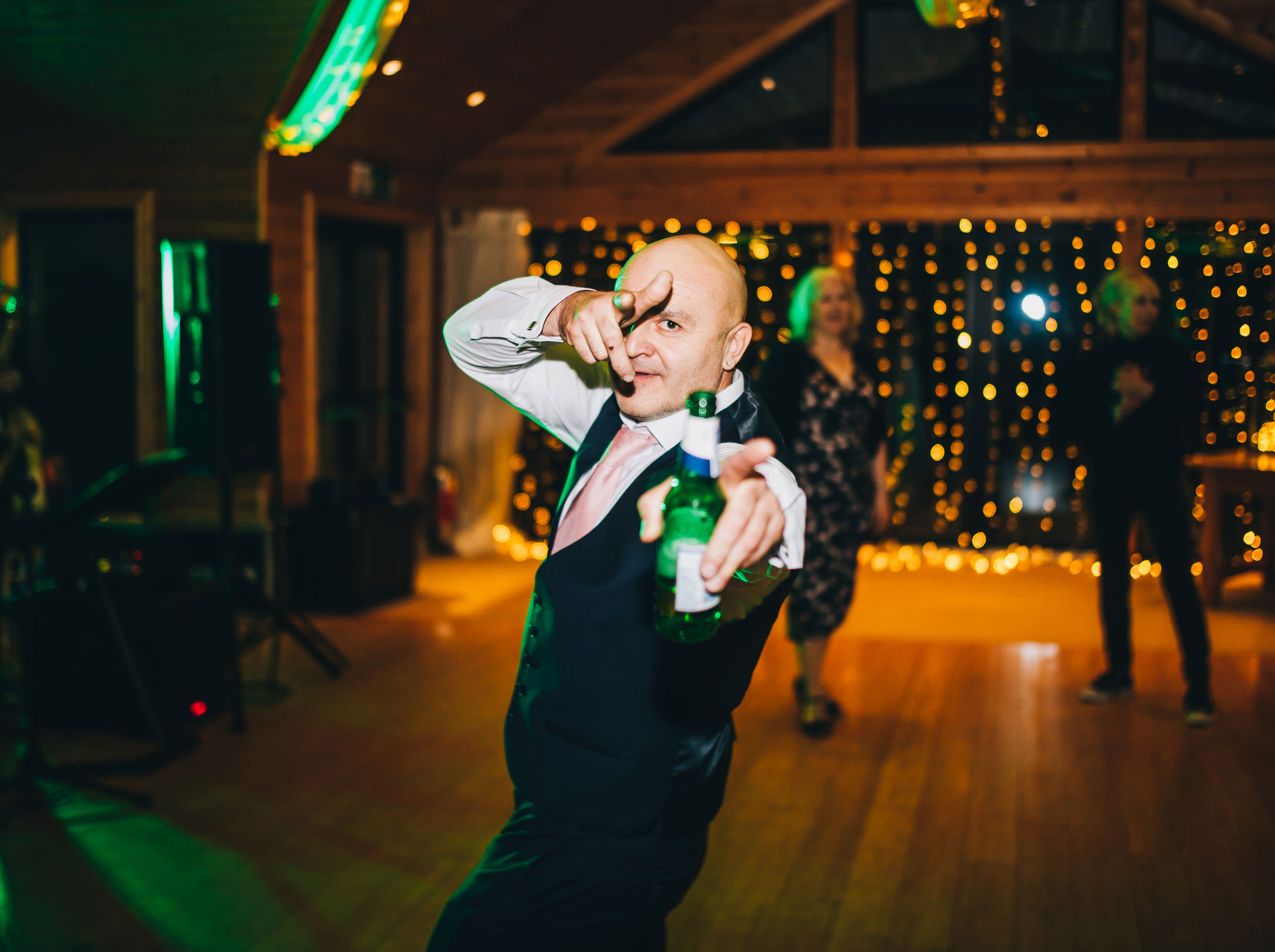 fun and creative wedding photography Cheshire