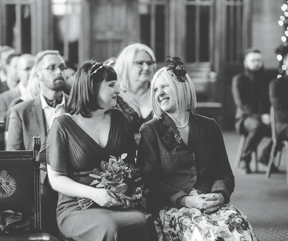 sharing a look at the wedding ceremony in manchester