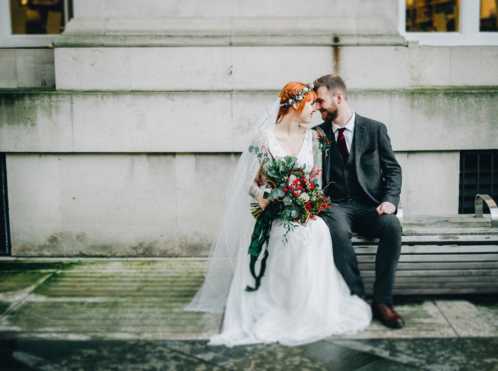 relaxed Manchester portraits - wedding photographer in Manchester