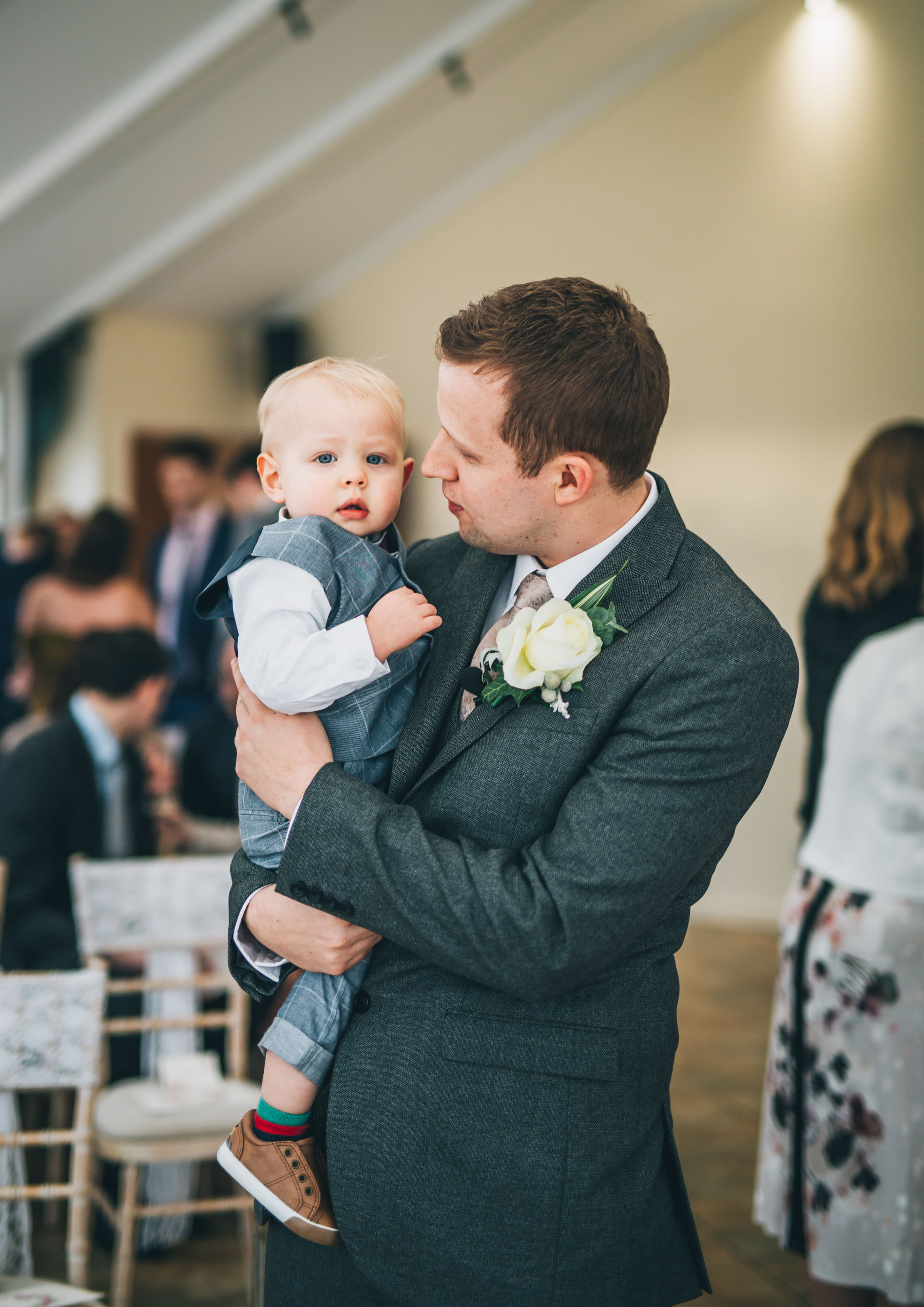Groom and son - Combermere Abbey