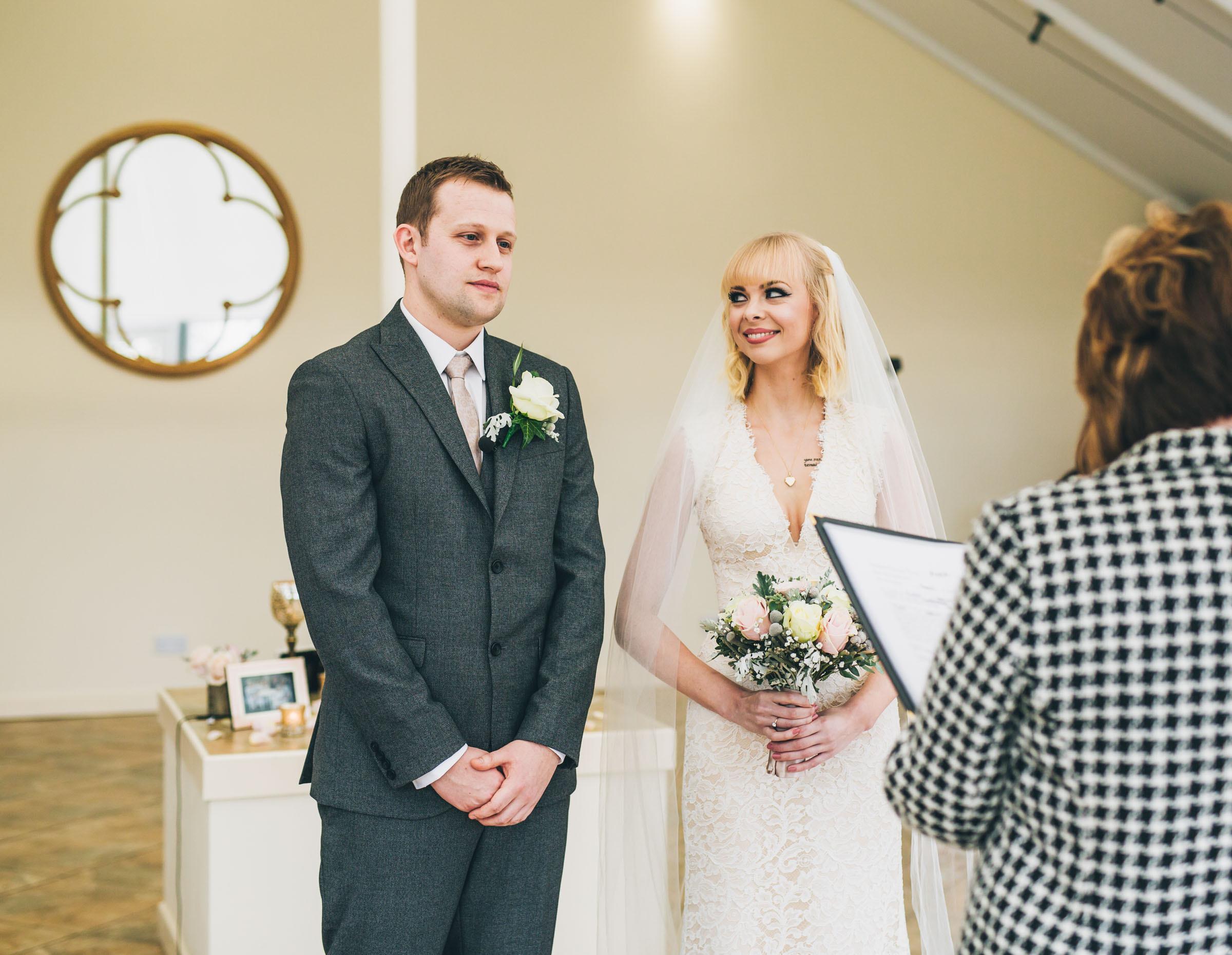 Documentary wedding photographer North West - wedding ceremony