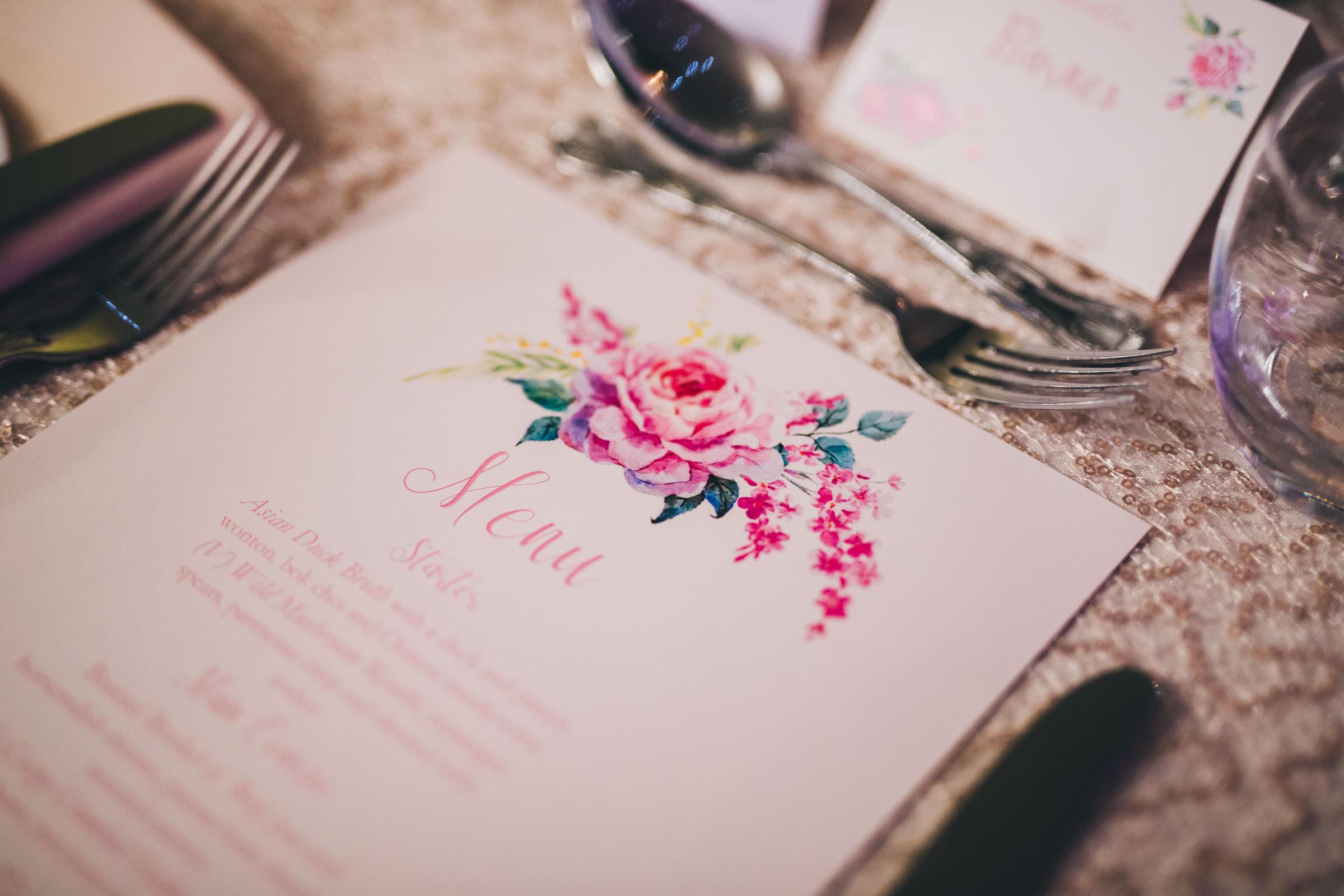 wedding decor - Shropshire wedding photographer