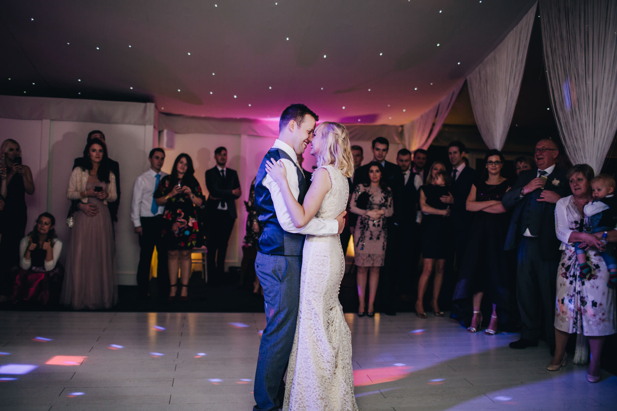 first dance at Combermere Abbey