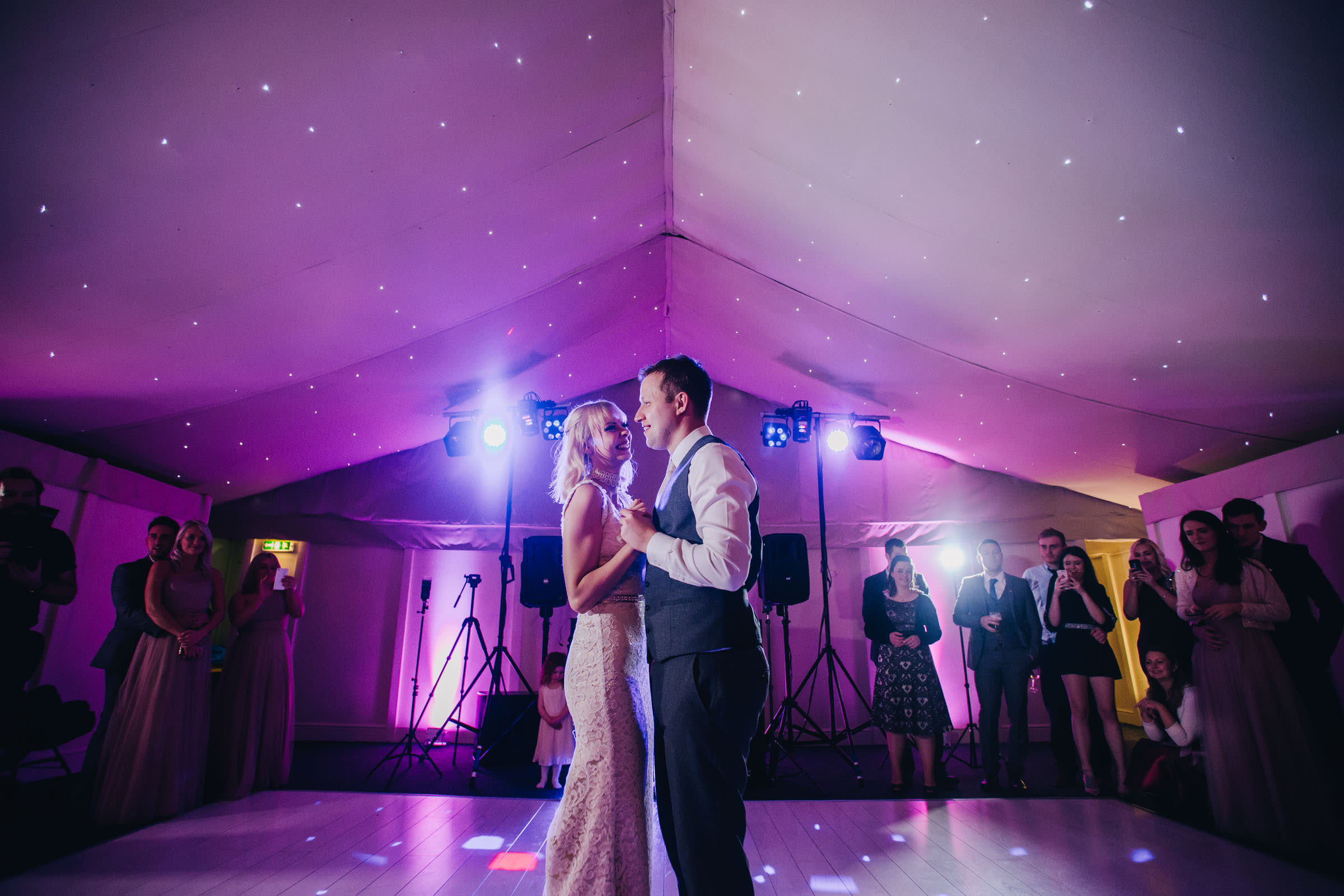 beautiful first dance pictures at Combermere Abbey