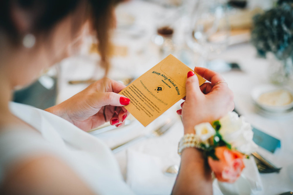 Table decorations. Creative wedding photography.