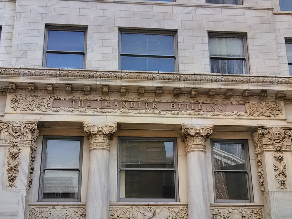 Candler building with Coke sign removed.