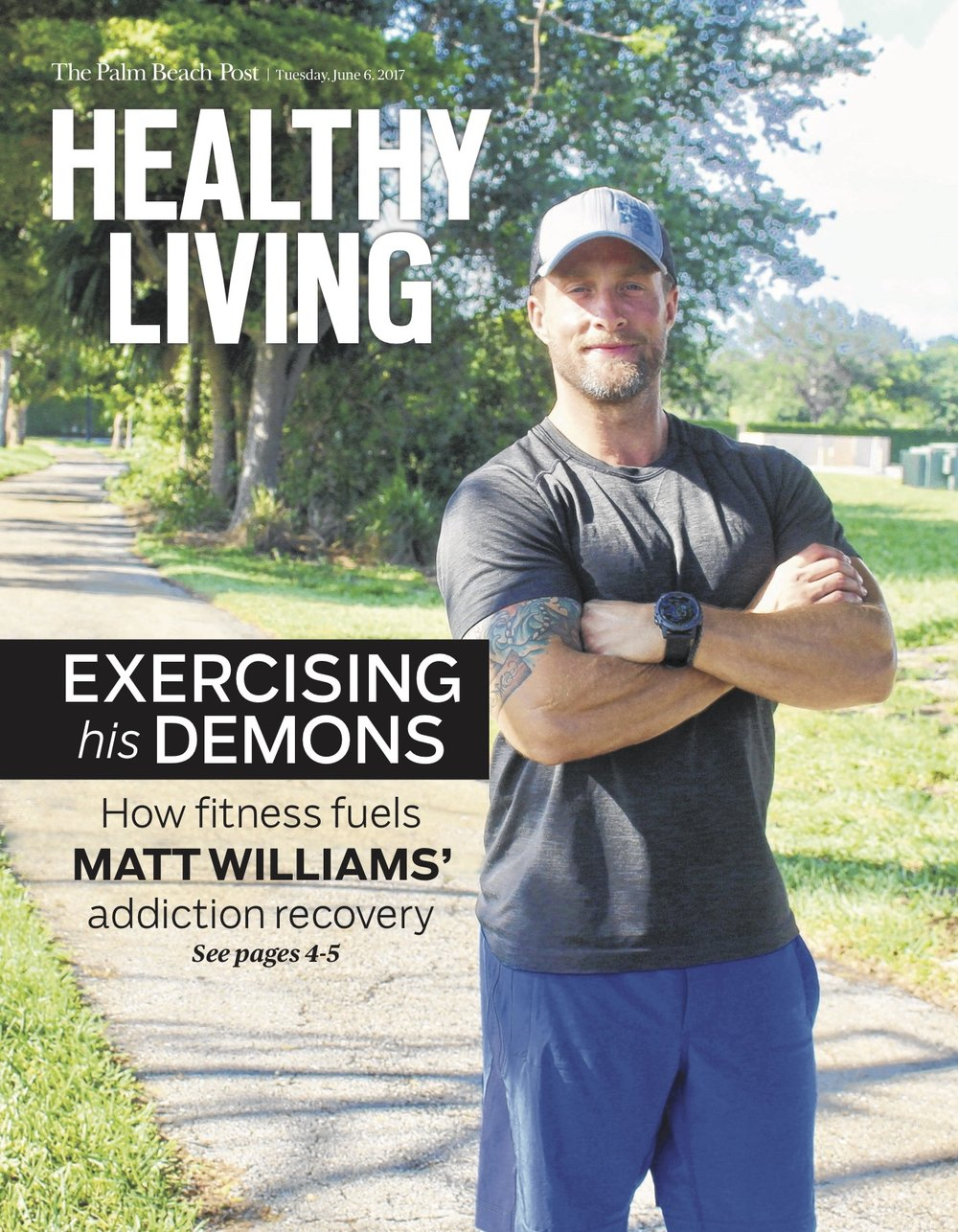 Healthy Living - Matt Williams pg1