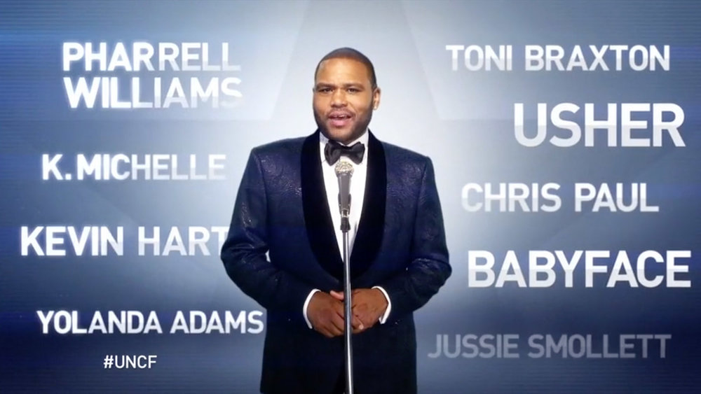 ANTHONY ANDERSON UNCF    bet / promo