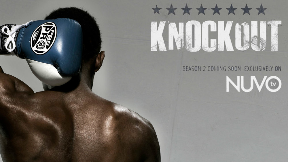 KNOCKOUT    nuvo tv / key art / promo