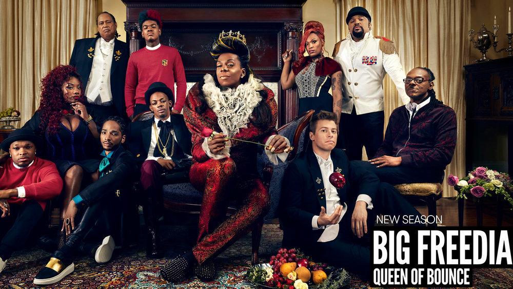 BIG FREEDIA S.5    fuse tv / key art