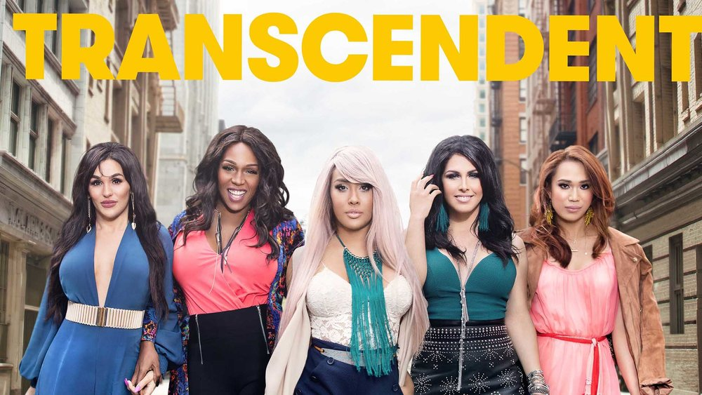 TRANSCENDENT    fuse tv / key art / promo