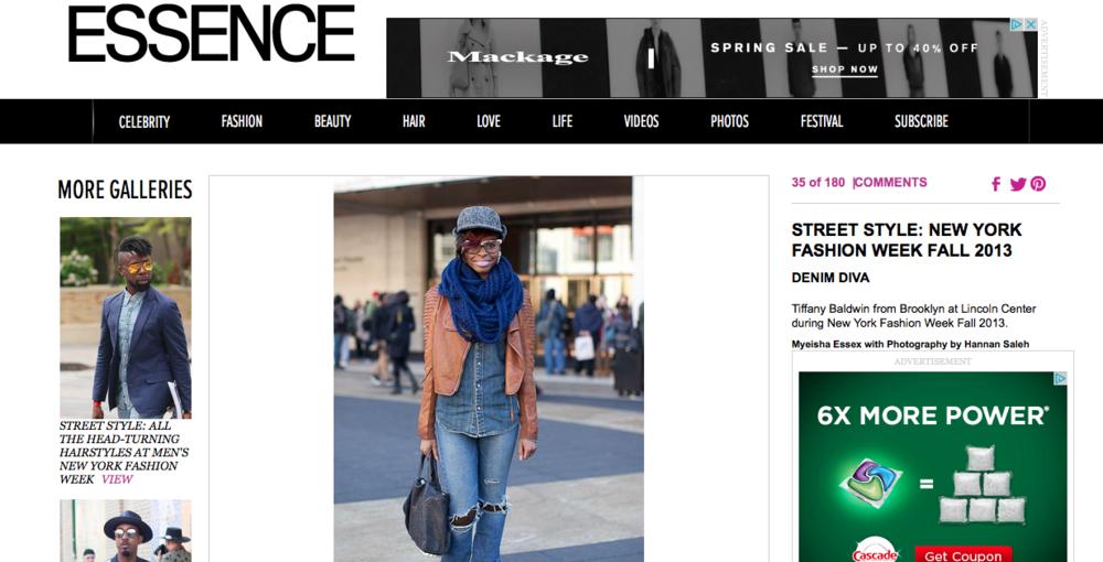 Essence Street Style 2013