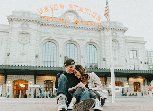 Downtown Denver vibes at Union Station.✨