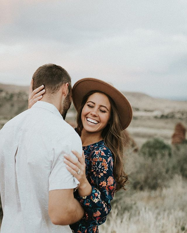 This Red Rocks engagement was a dream.✨