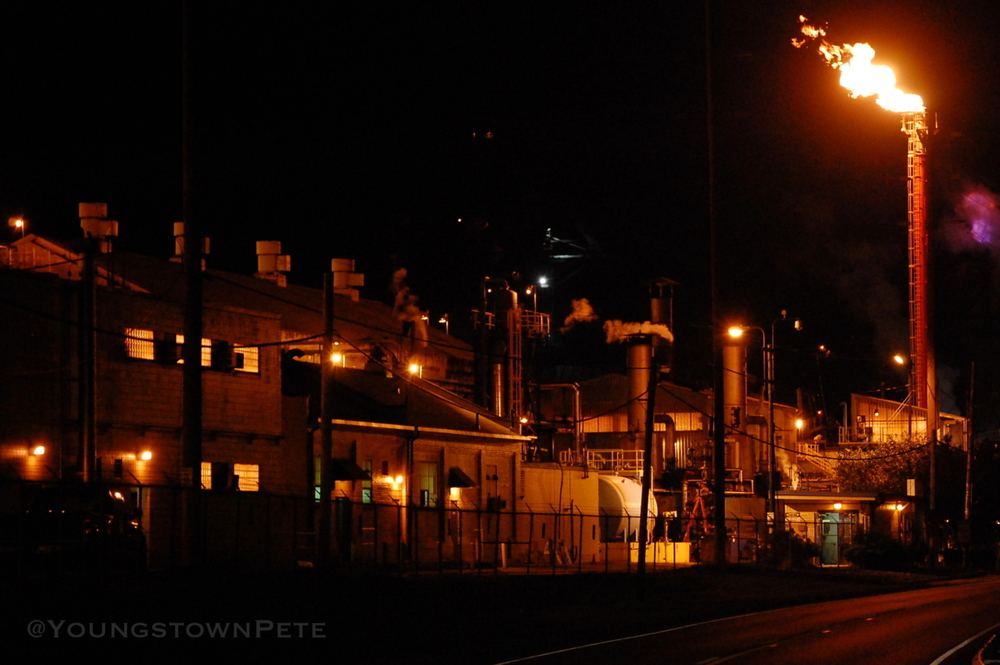 Mittal Steel coke works / Renco Steel. Warren, Ohio