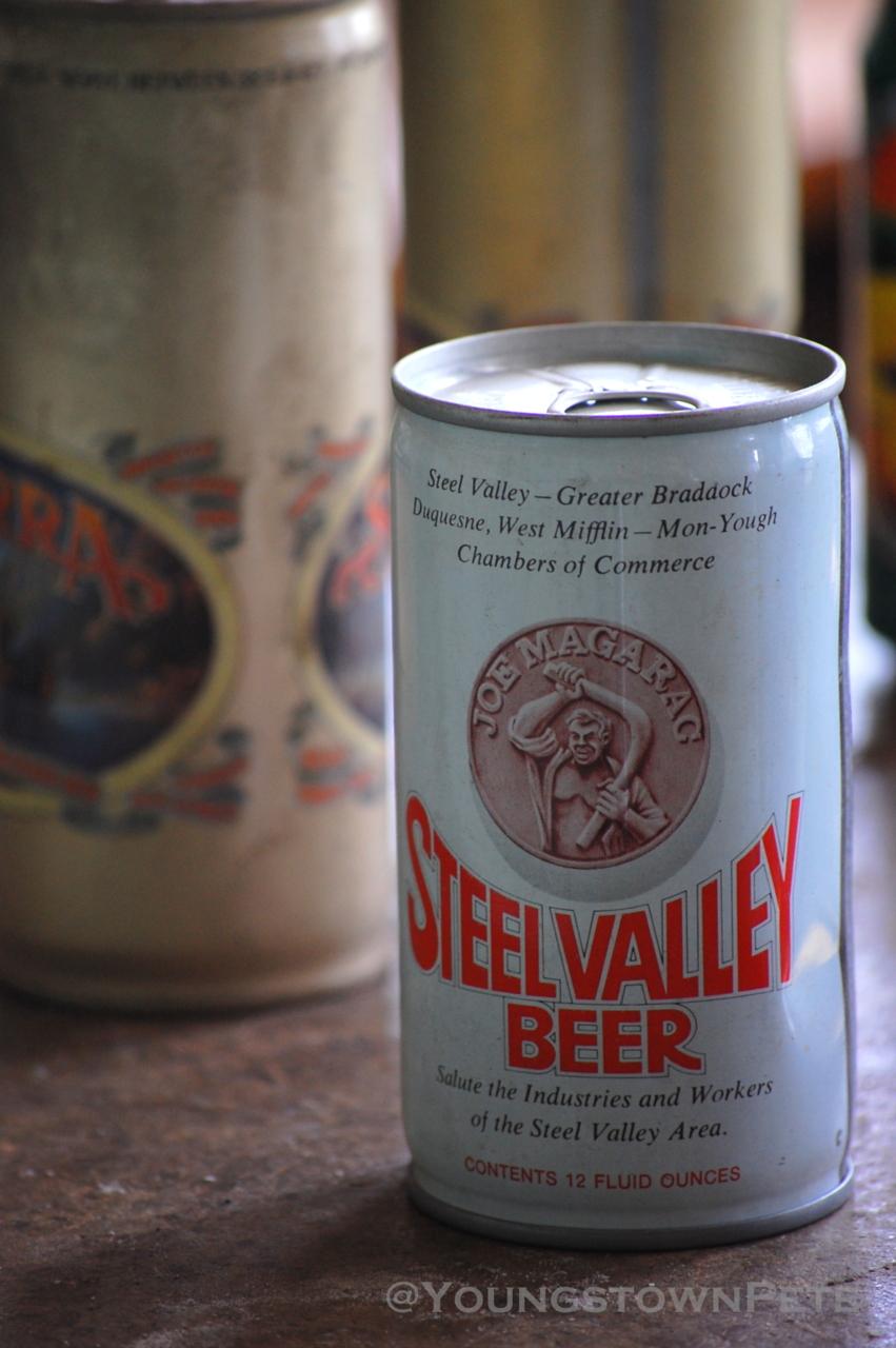 """Steel Valley Beer"" Iron City Beer Brewery. Pittsburgh, PA."