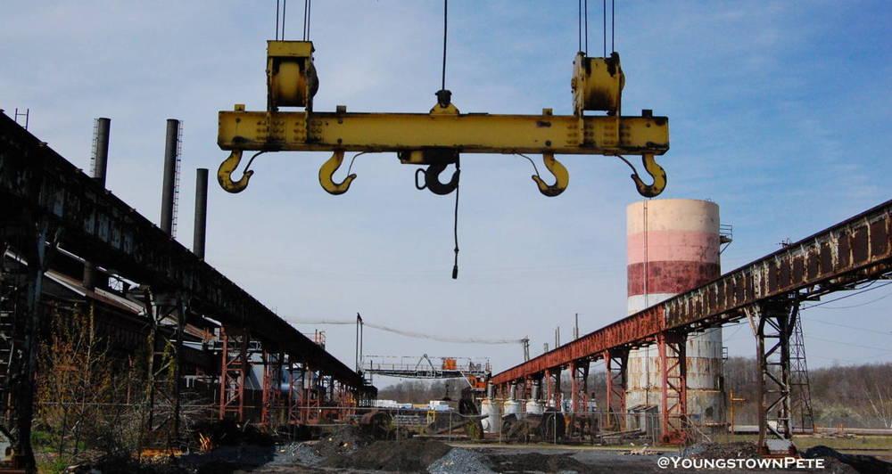 Overhead Crane. US Steel McDonald Works; McDonald, OH