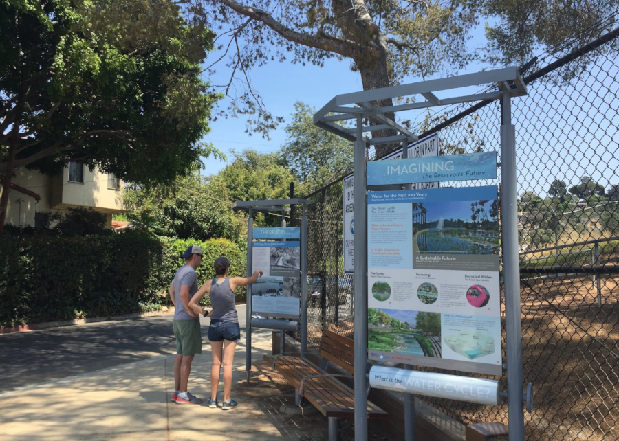 Interpretive Signage Along the Path