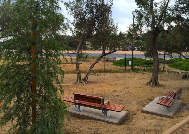 Olive Grove Pocket Park Landscaping