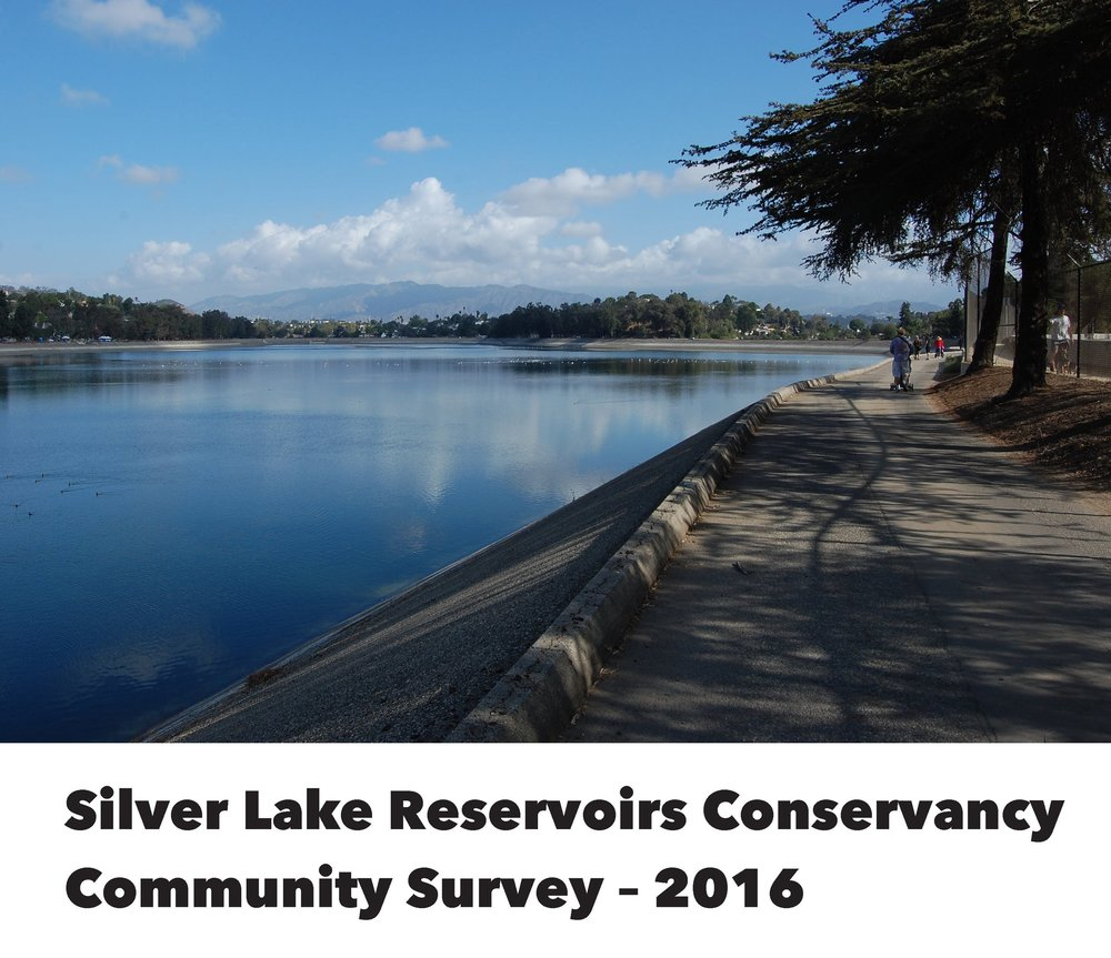 Silver Lake Reservoirs Conservancy Community Survey 2016