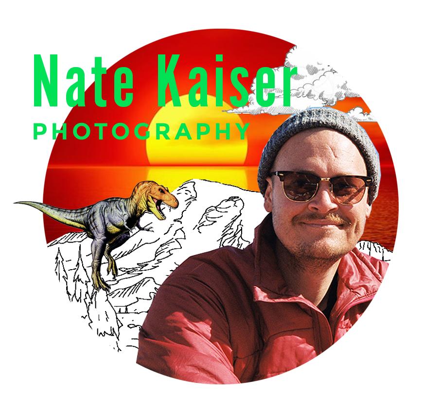 "NATE KAISER   ""A fucking legend""... the first ever to even think of having a wedding blog... a man ahead of his time... honestly down right brilliant. And for Field Trip 2018 he's handing you some knowledge on your keeper of all things, your camera. Stop hiding behind your automatic settings. Stop relying on that tiny preview screen. Your camera isn't an over-complicated piece of technology. It's an extension of your creative vision. We're taking a year's worth of photo school and compressing it into one class. with a legend. in a tent.   theimageisfound.com"