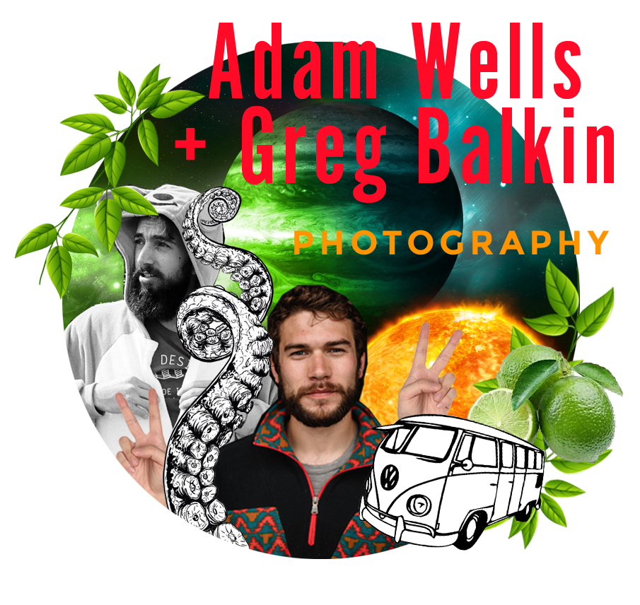"GREG BALKIN + ADAM WELLS FOR THOSE STUCK IN A RUT ""I'm not changing, I'm becoming more myself."" We all start off headed in a particular direction and run that way until it no longer makes sense. This class is about the art of the pivot. This is about embracing change and allowing your work to adapt and evolve as you do. Come hear the story of how two friends split from weddings and a nine-to-five and hit the road in search of creating a commercial media business from the ground up. Spoiler Alert: their no holds barred approach got them recognized and hired by Chaco, prAna, and Sierra Designs within months. ajwells.com gregbalkin.com"