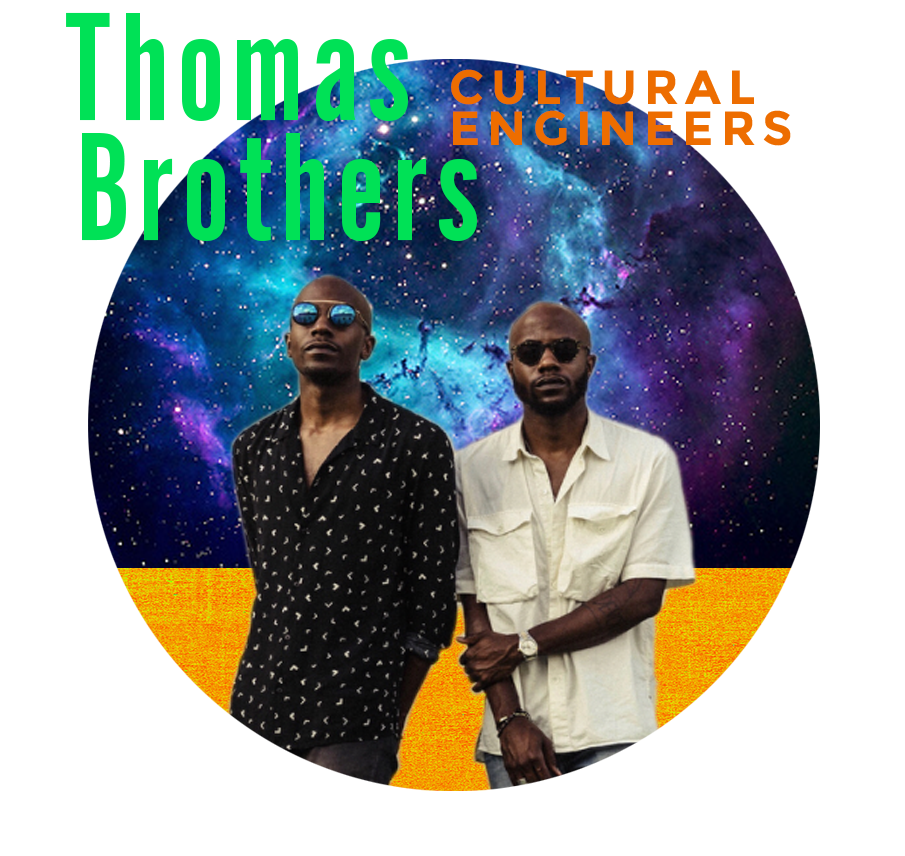 THOMAS BROTHERS   The Baton Rouge-based Thomas Brothers are the founders of Tank Proof - an organization dedicated to teaching minority children how to swim. Cultural engineers-cum-preeminent do-gooders, the Thomas Brothers will be sharing their spirit and process with all of us at Marfa.   www.tankproof.com