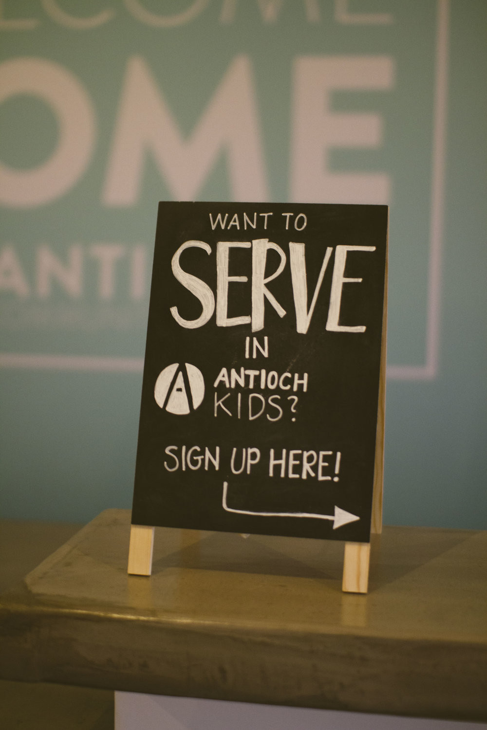 Saved People Serve People. - Consider serving this Spring! Meet us at the Welcome Desk to hear more about our Serve Teams.