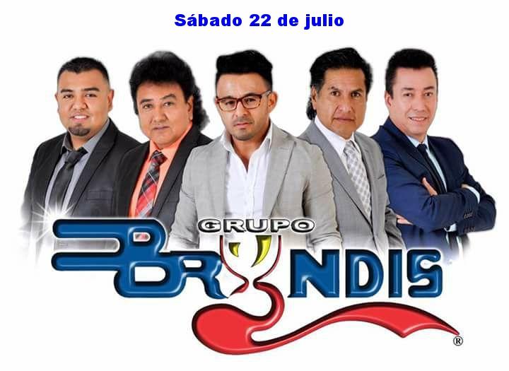 Grupo Bryndis sábado 22 de julio