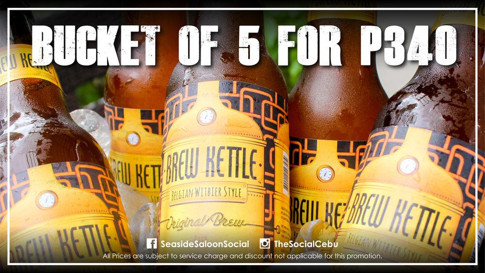 Bucket of Brew Kettle