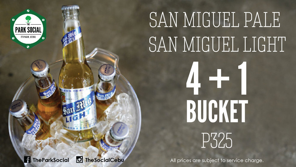 Bucket of San Miguel