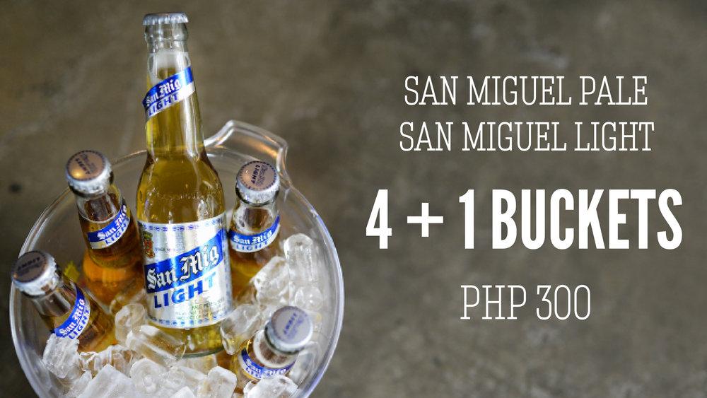 San Miguel Bucket