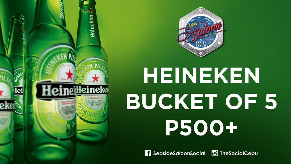 Heineken Bucket