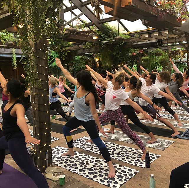 This time next week 🙈  @thegrounds with the super special @katclaytonyoga!  We're also planning a special healthy giveaway on the night for one lucky yogi 😝 All will be revealed soon! It's going to be a super fun event so get your tickets this week so you don't miss out! SEE YOU THERE 😘 link in bio. #sweatforthegoodstuff #thegrounds #yoga #community