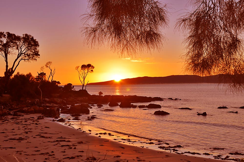 Tasmanian sunrise - Port Sorell