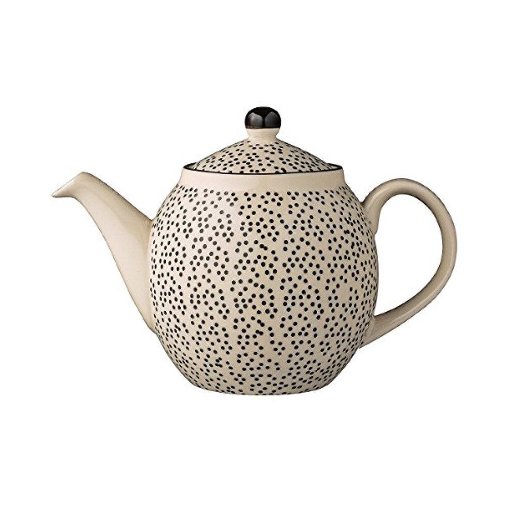 Bloomingville Julie Ceramic Teapot $25.95   Wants 1 Has 1 Needs 0