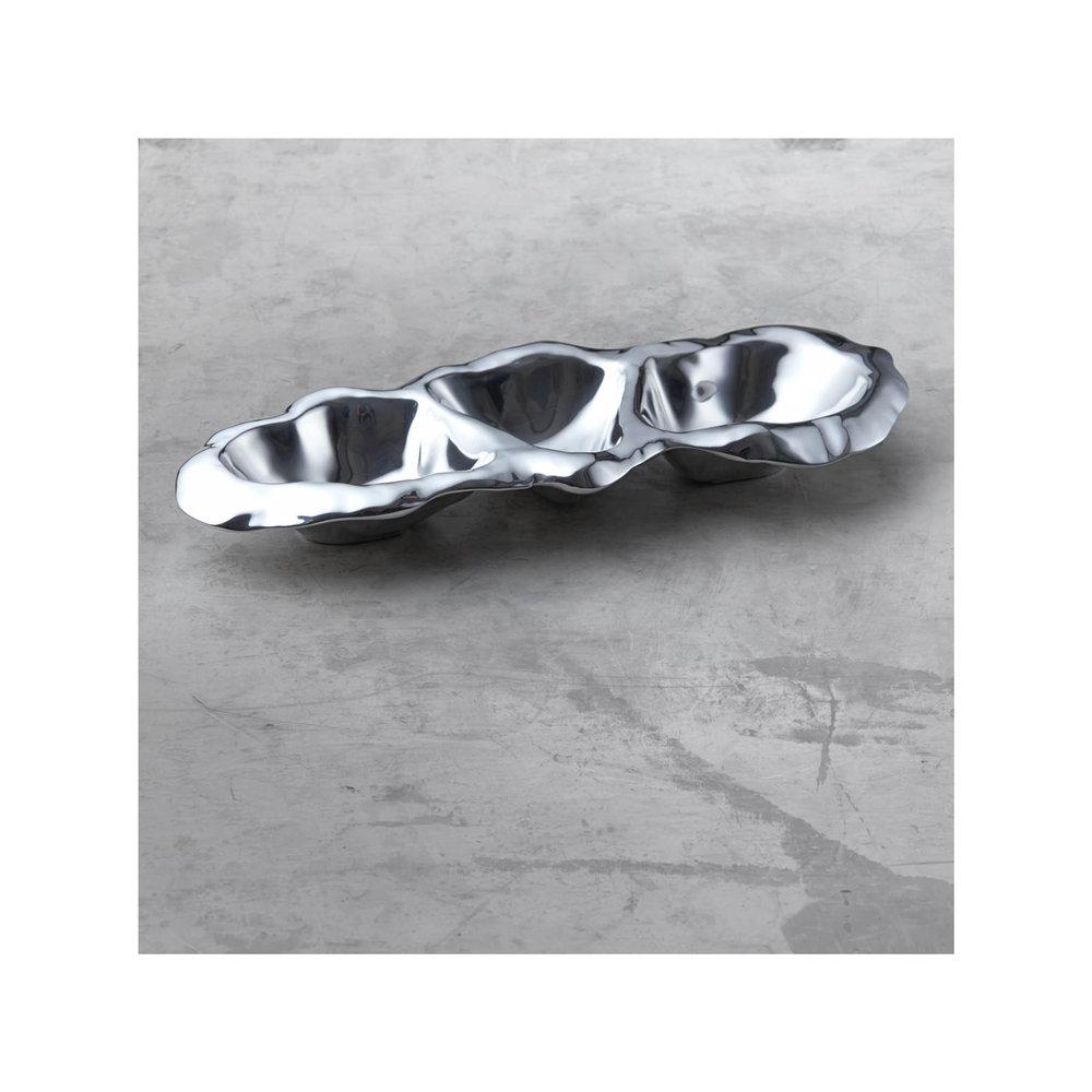 Beatriz Ball Collection Vento Triple Dip Tray, Medium $93.00   Wants 1 Has 0 Needs 1