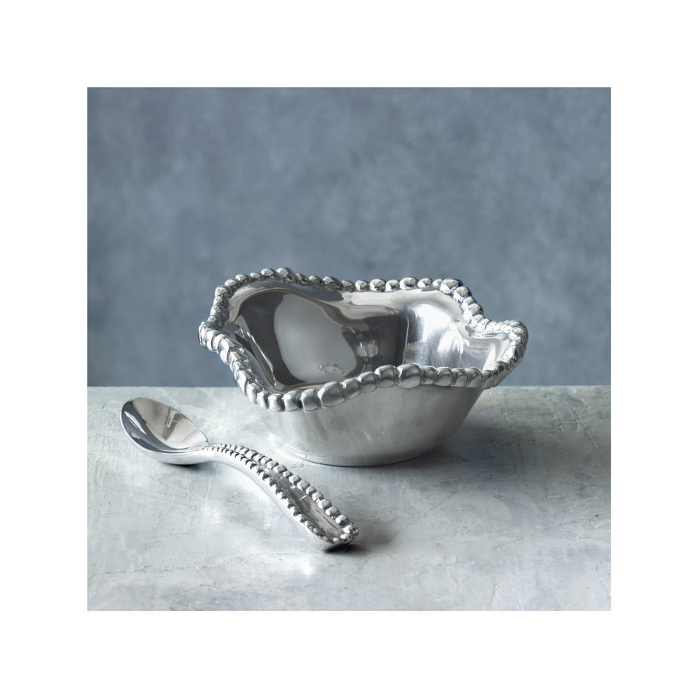 Beatriz Ball Collection Pearl Petit Bowl with Spoon $53.00   Wants 1 Has 0 Needs 1