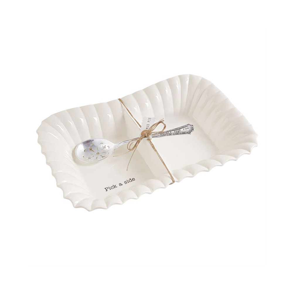 Mud Pie Large Divided Tray Set $52.95   Wants 1 Has 1 Needs 0