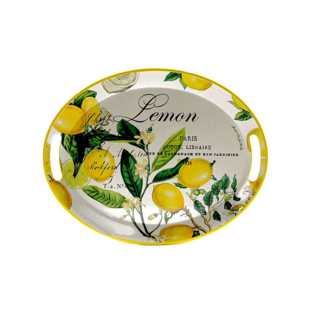 Michel Design Works Lemon Basil Platter $47.95   Wants 1 Has 1 Needs 0