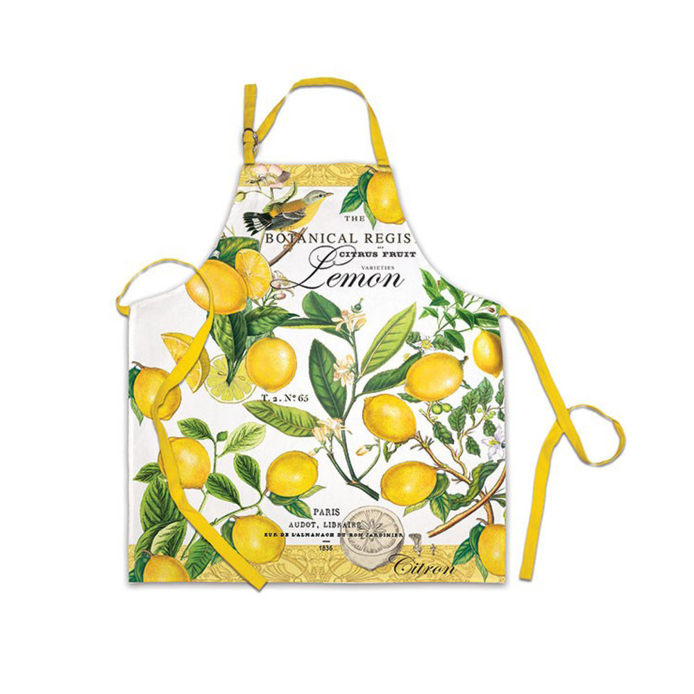 Michel Design Works Lemon Basil Apron $20.95   Wants 1 Has 1 Needs 0