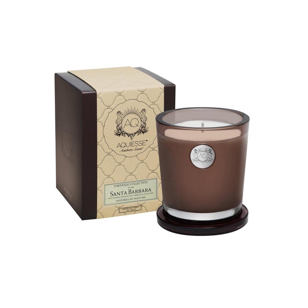 Aquiesse Santa Barbara Large Candle $37.95   Wants 3 Has 0 Needs 3