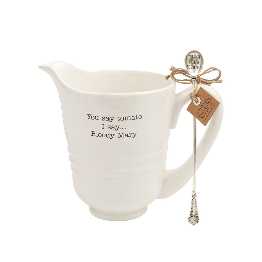 Mudpie Bloody Mary Pitcher $47.95   Wants 1 Has 1 Needs 0