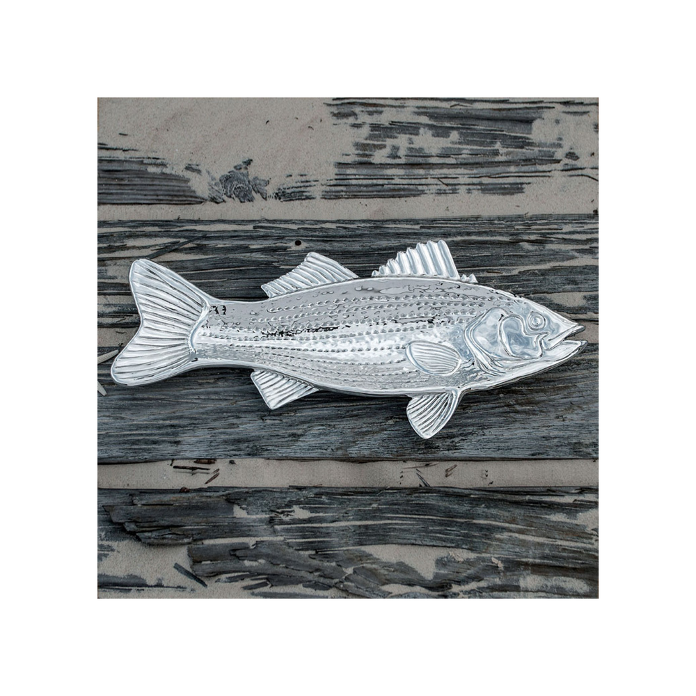 Beatriz Ball Ocean Striped Bass Platter $100.95   Wants 1 Has 0 Needs 1
