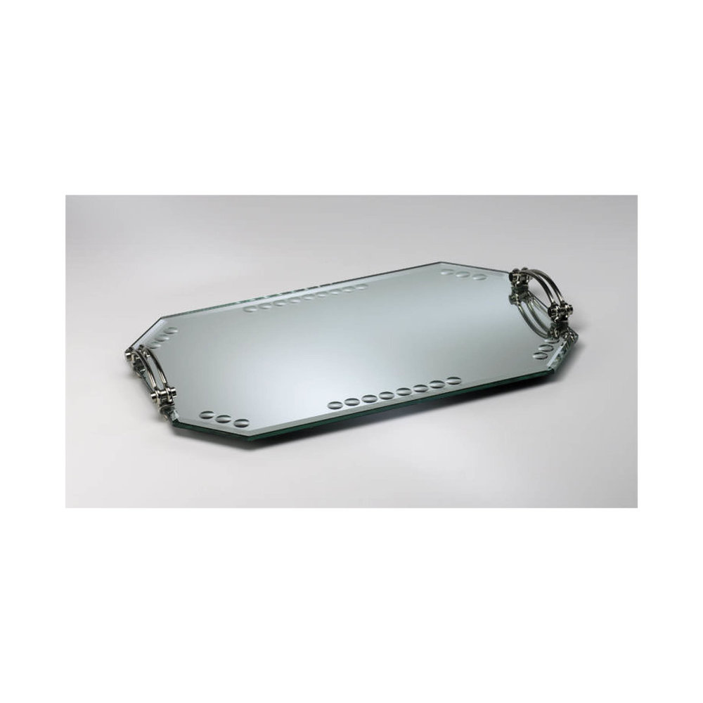 Mirrored Glass Tray $225.00   Wants 1 Has 0 Needs 1