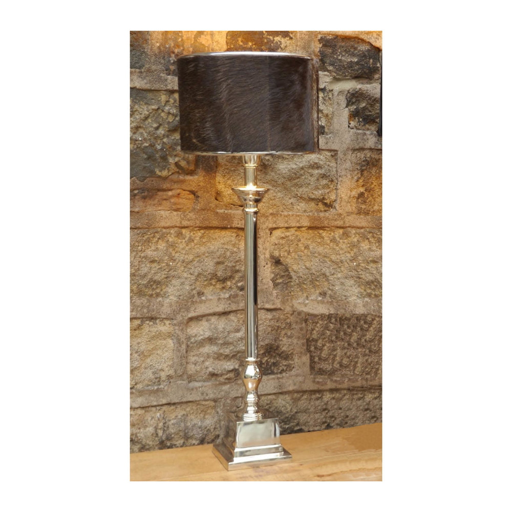 BIPIN Cow Skin Lamp $193.00   Wants 2 Has 2 Needs 0